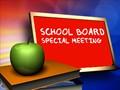 December School Board Meeting-Special Meeting Time Notice