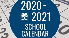 2020-2021 School Calendar - REVISED August 2020
