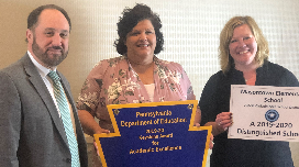 Congratulations to Masontown Elementary -- 2019-20 PA Distinguished School