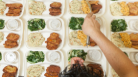 Prepackaged Meals Being Sent Home - Starting The Week of January 25, 2021