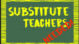 Substitutes Needed!