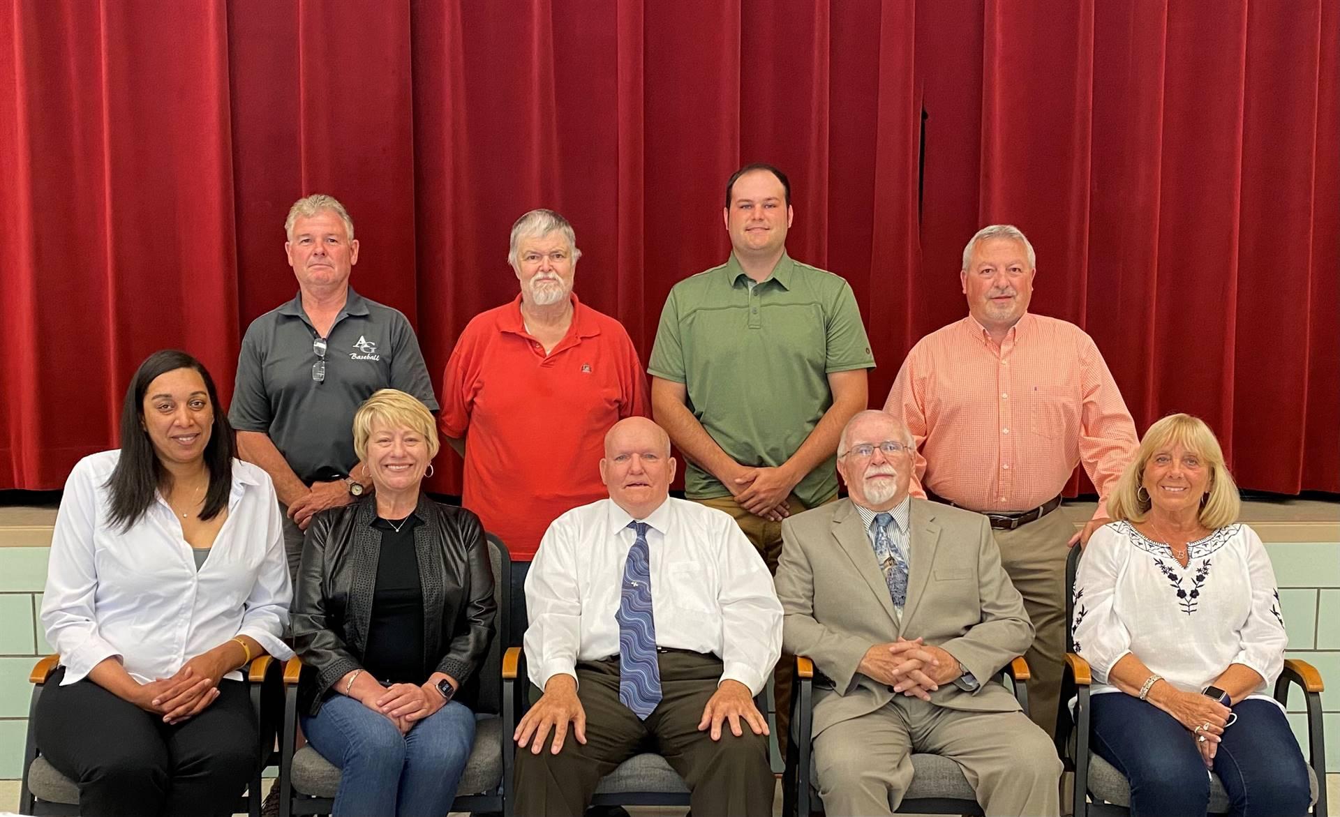 2021 AGASD Board Members