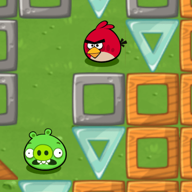 Angry Birds Code.org activity